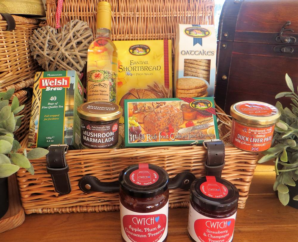 Luxury Welsh food Hamper