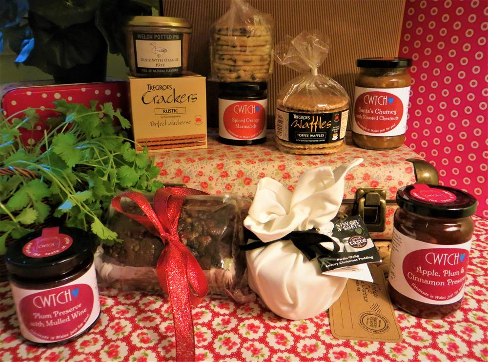 Welsh Christmas Deli Hamper