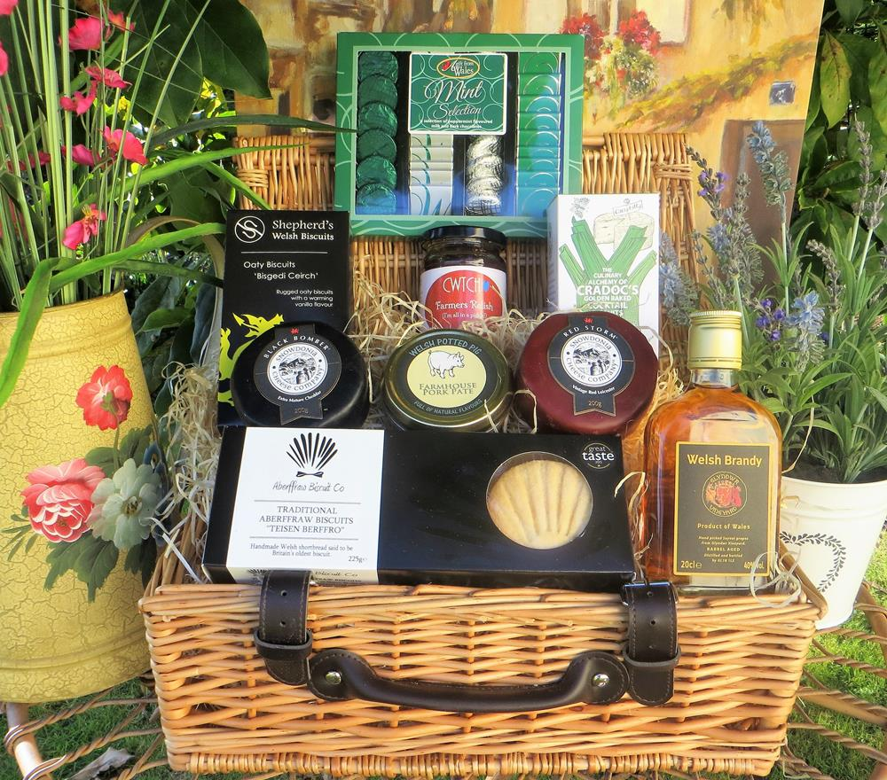 Luxury Welsh Brandy Hamper